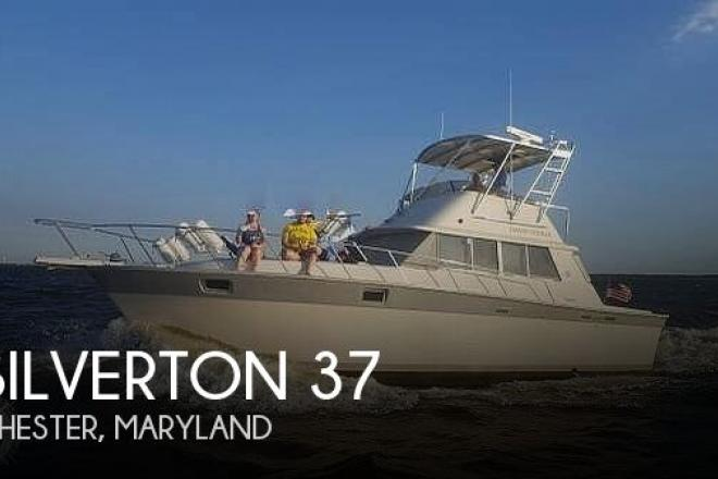 1987 Silverton 37 Convertible - For Sale at Chester, MD 21619 - ID 196072