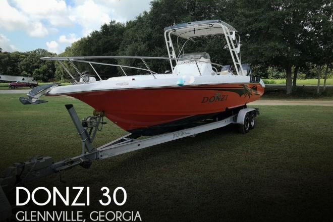 1998 Donzi 30 - For Sale at Glennville, GA 30427 - ID 195833