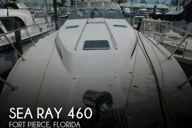 1988 Sea Ray 460 EXPRESS CRUISER - For Sale at Fort Pierce, FL 34946 - ID 195956