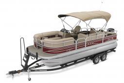 2021 Sun Tracker Sportfish 22DLX, 150HP