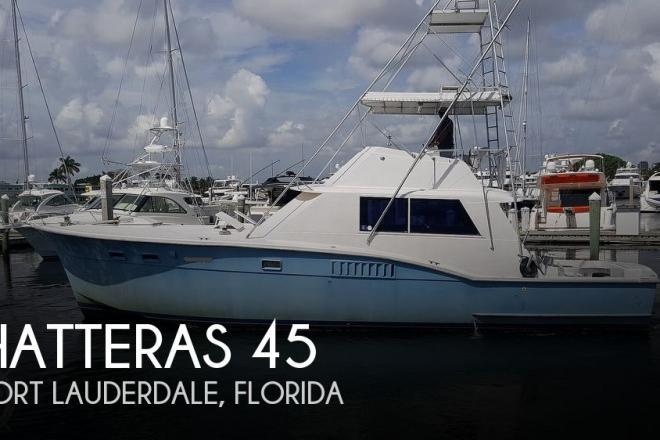 1973 Hatteras 45 - For Sale at Fort Lauderdale, FL 33316 - ID 196013