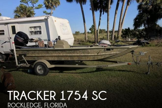 2015 Tracker 1754 SC - For Sale at Rockledge, FL 32955 - ID 158509