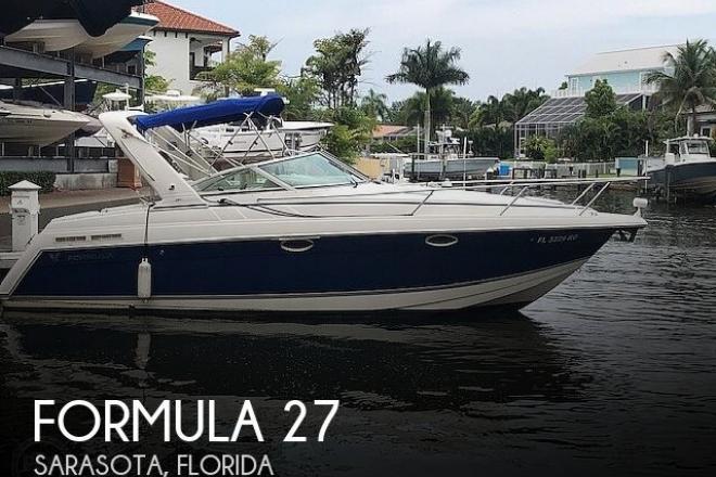 2003 Formula Thunderbird 27PC - For Sale at Sarasota, FL 34230 - ID 157563