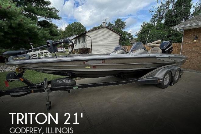 2009 Triton 21X3 Pro Elite - For Sale at Godfrey, IL 62035 - ID 142626