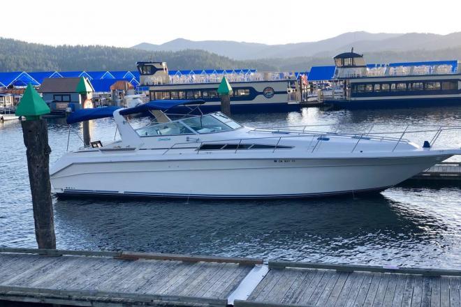 1990 Sea Ray 420 Sundancer - For Sale at Spokane, WA 99210 - ID 196553