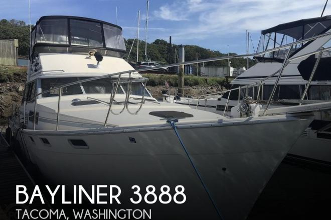 1989 Bayliner 3888 MY - For Sale at Tacoma, WA 98422 - ID 195936
