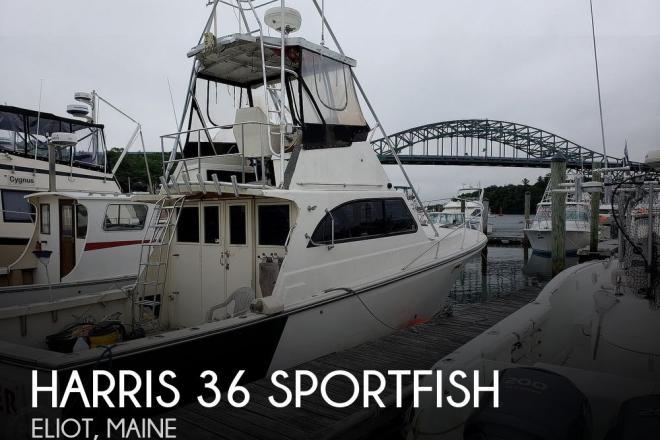 1986 Harris 36 Sportfish - For Sale at Eliot, ME 3903 - ID 189440