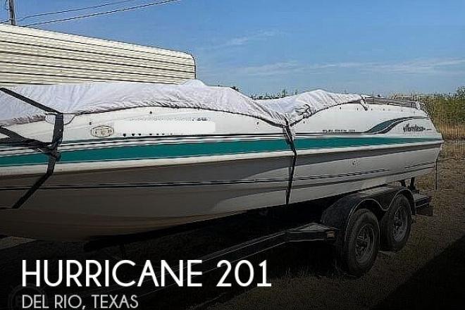 2000 Hurricane Fun Deck 201 - For Sale at Del Rio, TX 78840 - ID 196420