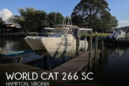 2000 World Cat 266 SC