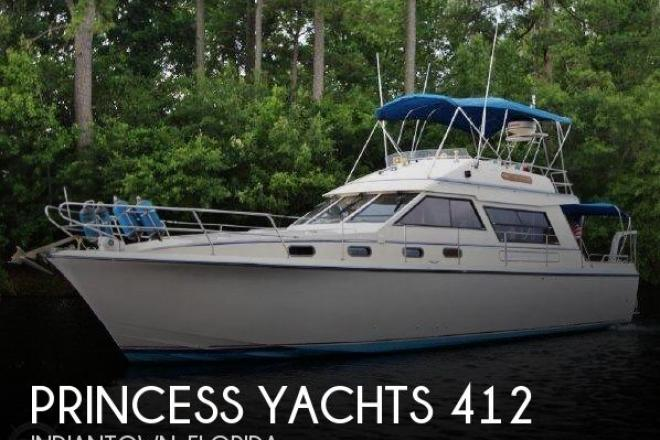 1983 Princess 412-2 - For Sale at Indiantown, FL 34956 - ID 150034