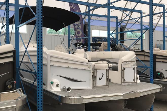 2019 JC Tritoon Neptoon 25 DSL TT Sport - For Sale at Coopersville, MI 49404 - ID 166862