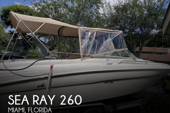 2001 Sea Ray 260 Signature - For Sale at Miami, FL 33176 - ID 79407