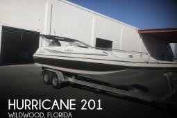 2015 Hurricane 201 Sun Deck Sport