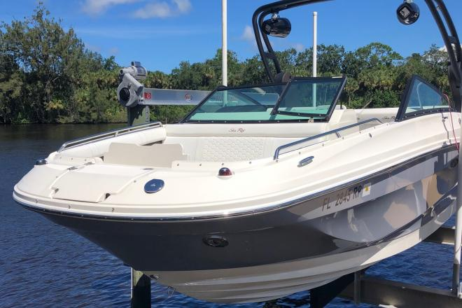2018 Sea Ray SDX 250 - For Sale at Palm Coast, FL 32135 - ID 197859