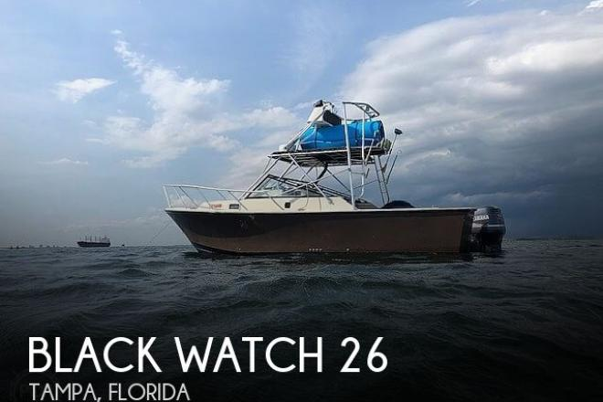 1990 Black Watch 26 Sportfisherman - For Sale at Tampa, FL 33619 - ID 189307