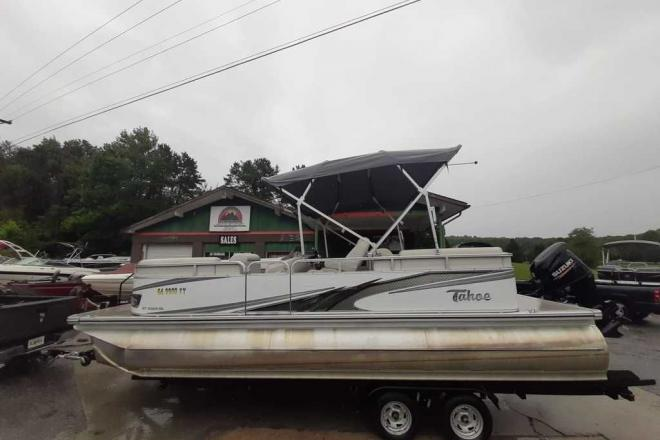 2019 Tahoe GT Quad Lounge 23' Pontoon - For Sale at Blairsville, GA 30512 - ID 174019