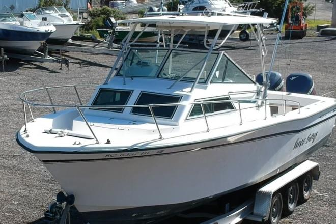 1988 Grady White 25' Sailfish - For Sale at Bluffton, SC 29910 - ID 197888