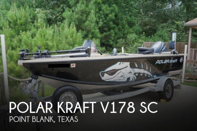 2008 Polar Kraft V178 Sc - For Sale at Pointblank, TX 77364 - ID 193443