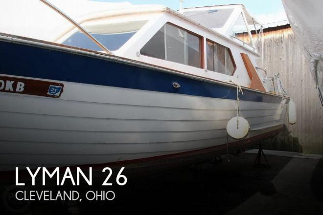 1969 Lyman 26 Express Cruiser - For Sale at Cleveland, OH 44102 - ID 153183