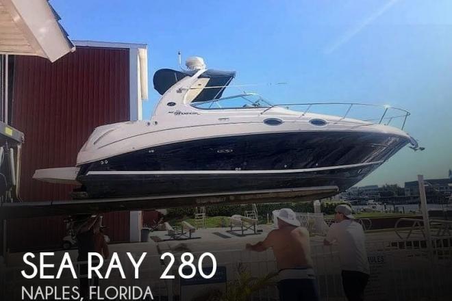 2005 Sea Ray 280 Sundancer - For Sale at Naples, FL 34102 - ID 134179