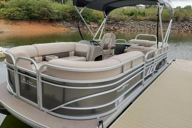 2021 Sun Tracker Party Barge® 20 DLX - For Sale at Blairsville, GA 30512 - ID 190421