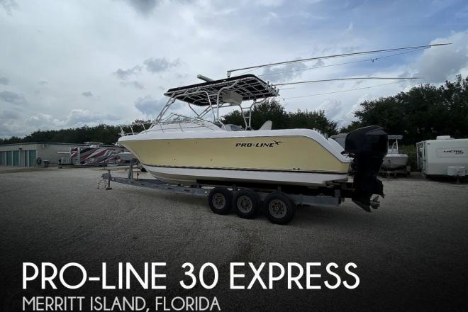 2004 Pro Line 30 Express - For Sale at Merritt Island, FL 32952 - ID 190821