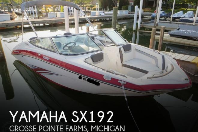 2016 Yamaha SX192 - For Sale at Grosse Pointe, MI 48236 - ID 188886