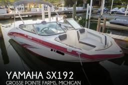2016 Yamaha SX192