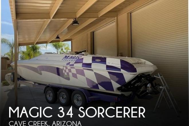 1999 Magic 34 Sorcerer - For Sale at Cave Creek, AZ 85331 - ID 192573