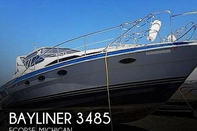 1989 Bayliner 3485 Avanti Sun Bridge - For Sale at Ecorse, MI 48229 - ID 189263