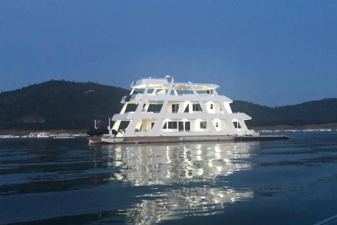 2006 Custom Built Houseboat - For Sale at Oroville, CA 95966 - ID 198707