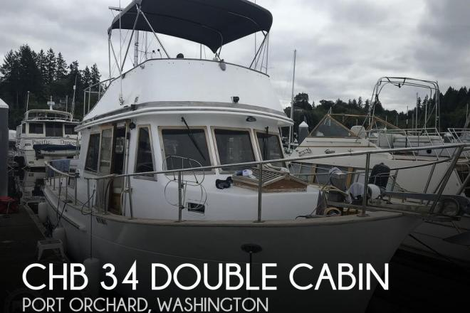 1981 CHB 34 Double Cabin - For Sale at Port Orchard, WA 98366 - ID 165375