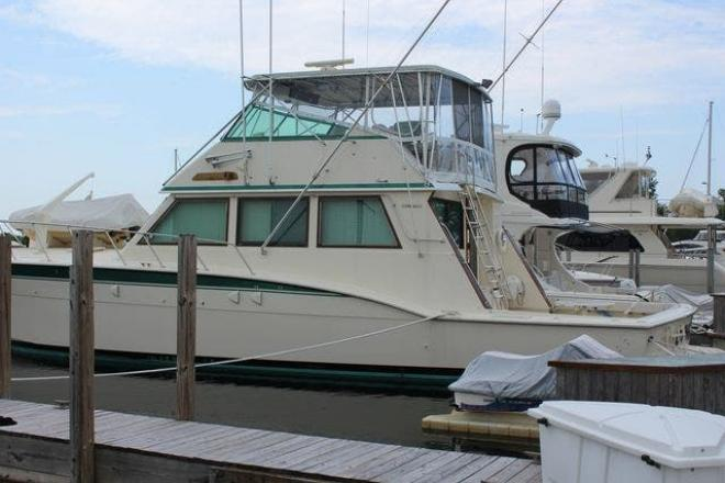 1984 Hatteras 60 CONVERTIBLE - For Sale at Winthrop Harbor, IL 60096 - ID 193976