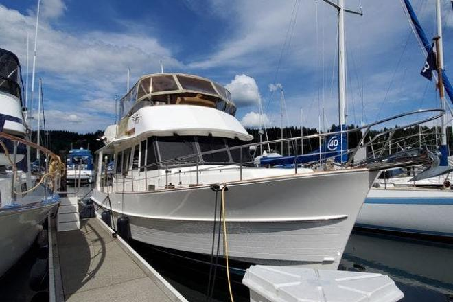 2009 Grand Banks 41 HERITAGE - For Sale at Seattle, WA 98109 - ID 192085