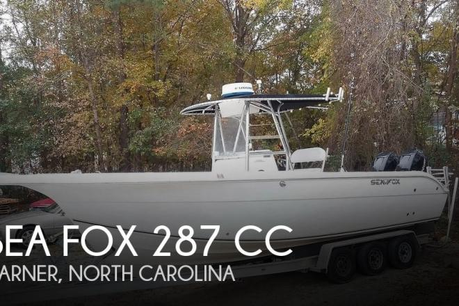 2006 Sea Fox 287 CC - For Sale at Garner, NC 27529 - ID 180643