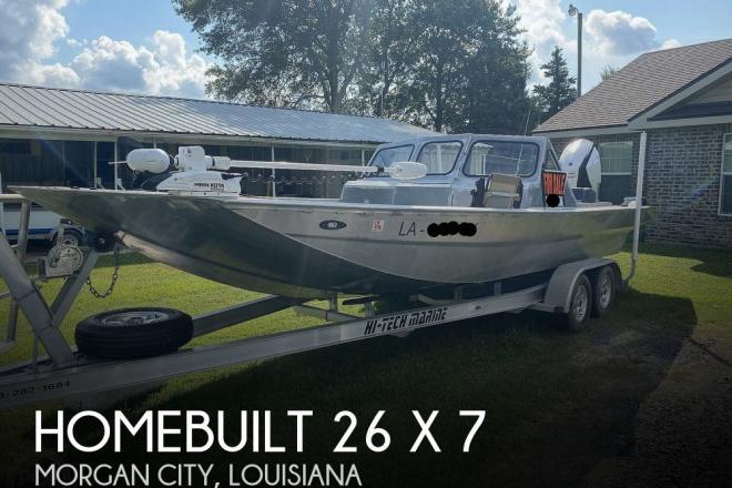 2019 Custom Built 26 X 7 - For Sale at Morgan City, LA 70380 - ID 195192