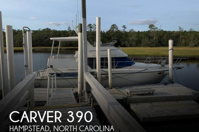 1994 Carver 390 Aft Cabin - For Sale at Hampstead, NC 28443 - ID 189670
