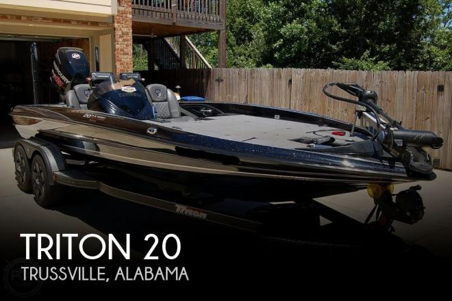 2017 Triton 20 TRX Patriot Elite - For Sale at Trussville, AL 35173 - ID 191646
