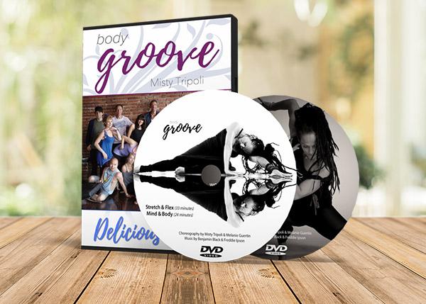 Dvd Body Groove Deliziosa Raccolta di Danza