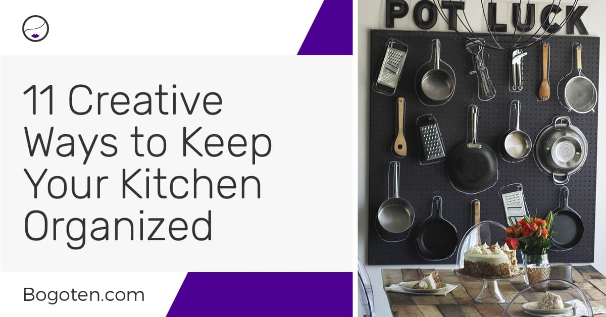 11 Creative DIY Ways to Keep Your Kitchen Organized