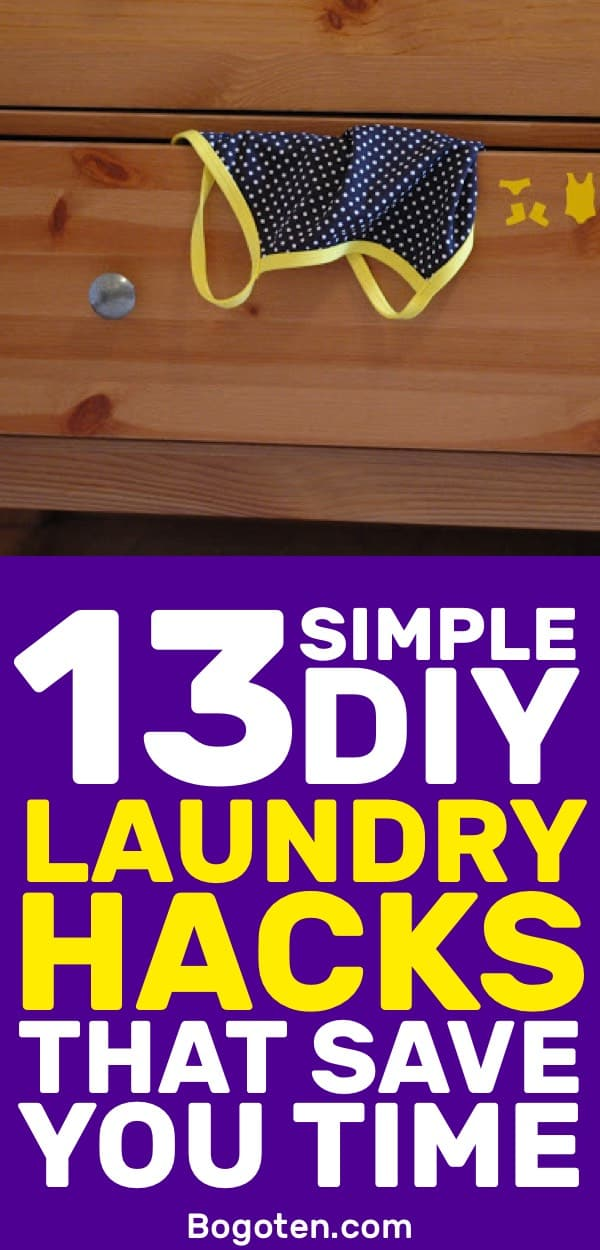 Laundry sucks but that doesn't mean it can't be better. I love these laundry DIY hacks to make laundry a lot easier.