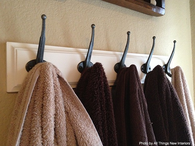 coat rack towel rack