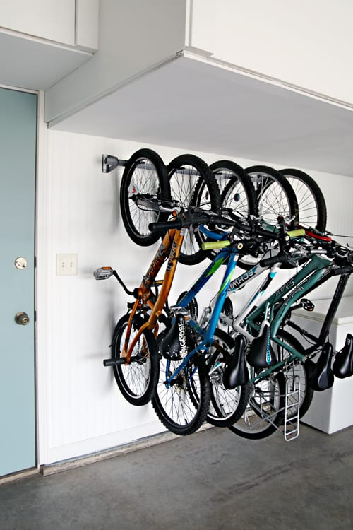 bike storage ideas garage organization ideas 9 diy ideas to organize your garage 13105