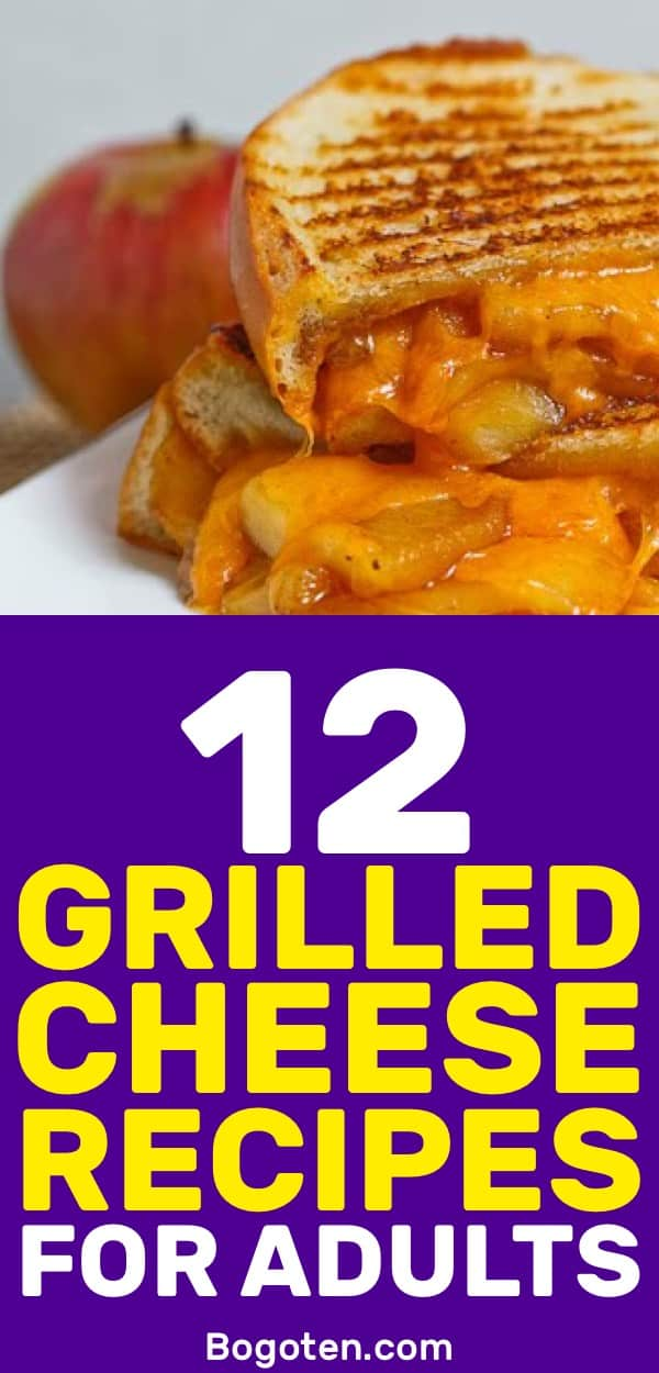 I wanted a grilled cheese sandwich and found these crazy recipes to try out. Looking forward to trying all 12 grilled cheese recipes.