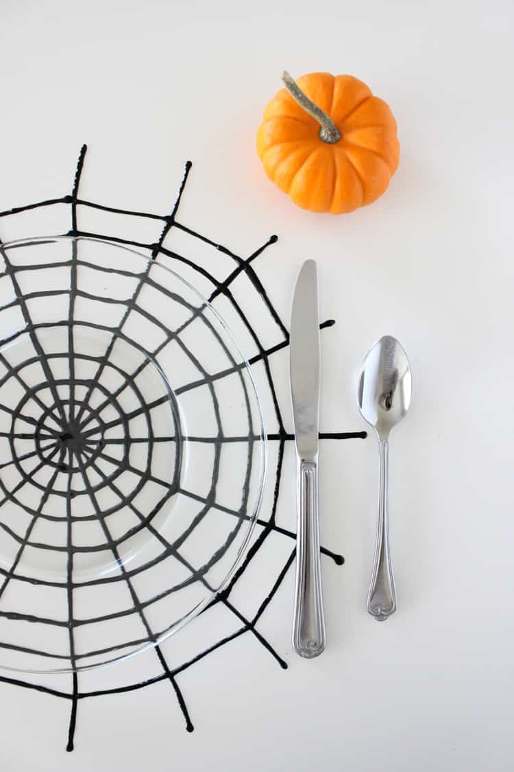 spiderweb placemats