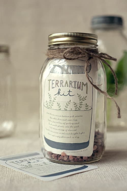 DIY Terrarium Gift Kit #DIYGifts