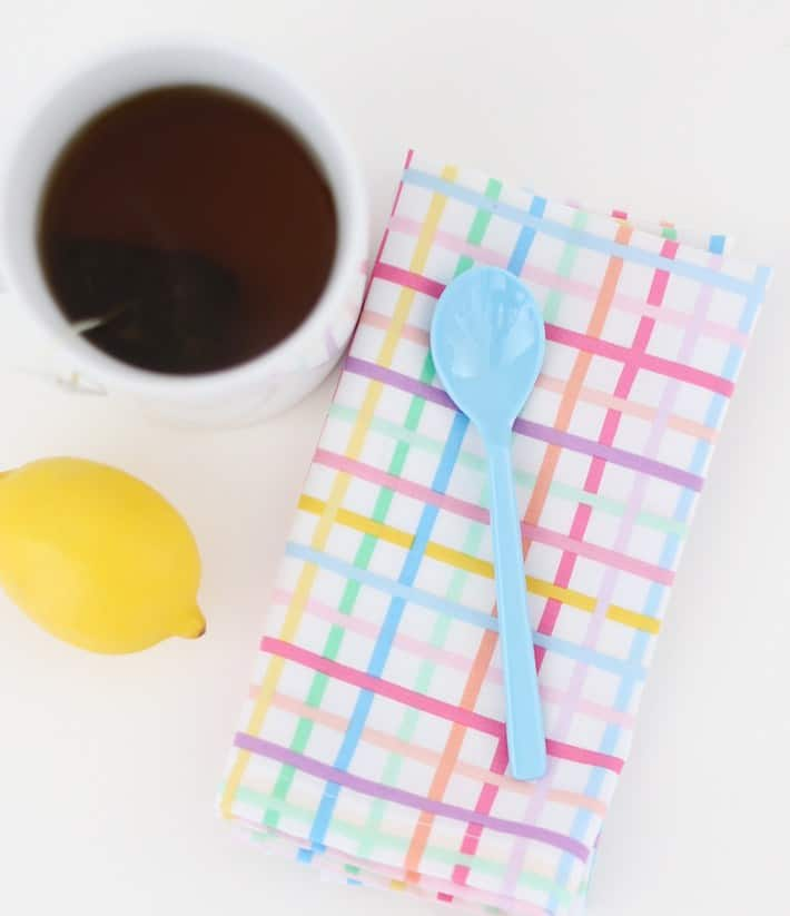 DIY Napkins #DIY #Sewing #Crafts