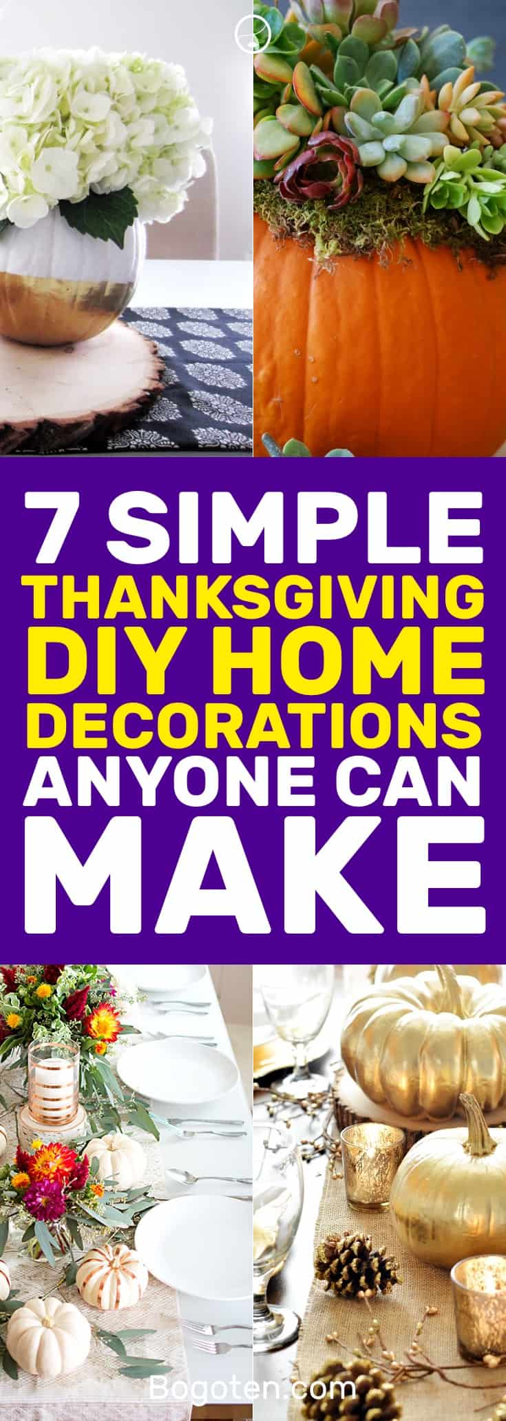 Iu0027ve Found These Awesome DIY Thanksgiving Decorations To Really Give My  Thanksgiving Dinner The