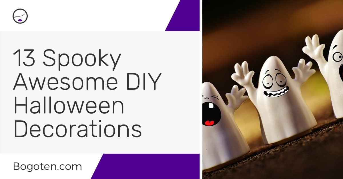 13 Spooky Awesome DIY Halloween Decorations