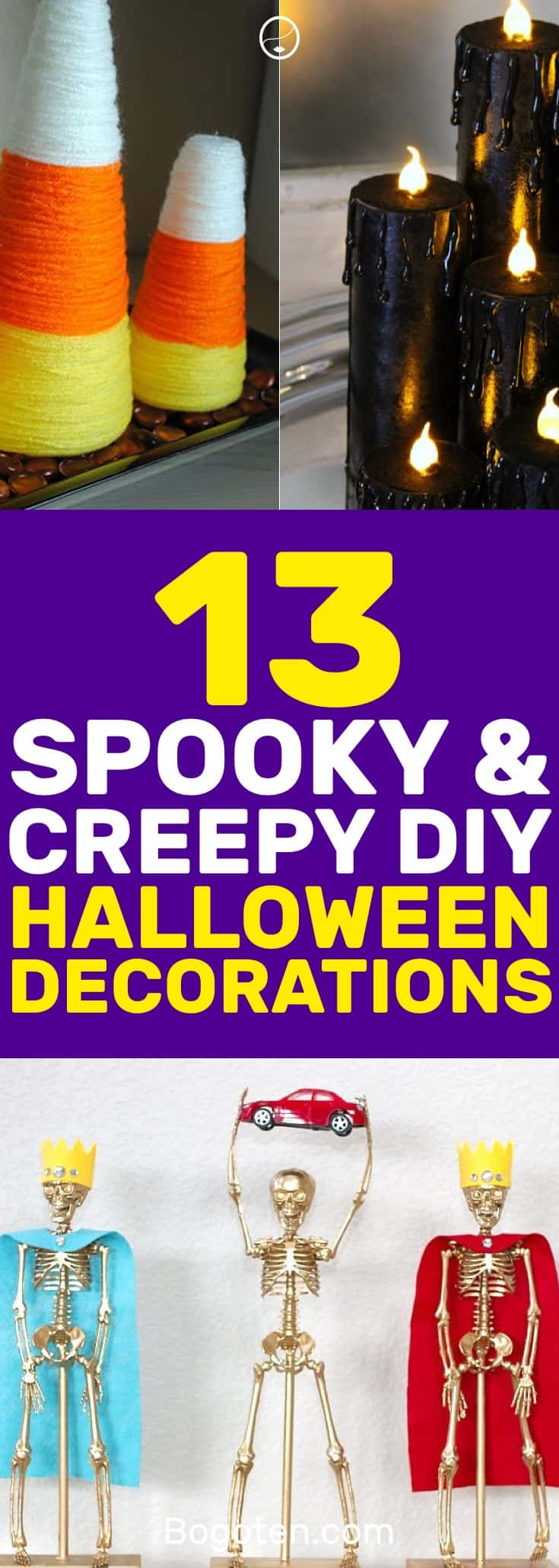 Need some DIY Halloween decoration ideas? I found these to be super useful and easy to make. I love ghosts everywhere! #DIY #Crafts #HomeDecor #Halloween